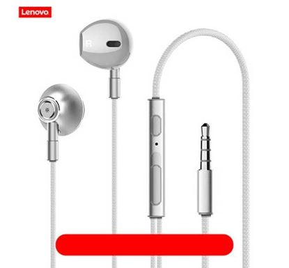 Lenovo HF140 Wired HD Sound Earphone with Mic