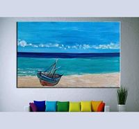 Acrylic Color On Wooden Fabric Canvas - C01