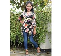 Soft Georgette Tops for Baby Girl - DB1228B2