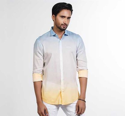 Dip Dyed Casual Shirt RN-FOY-SS21-SM2165