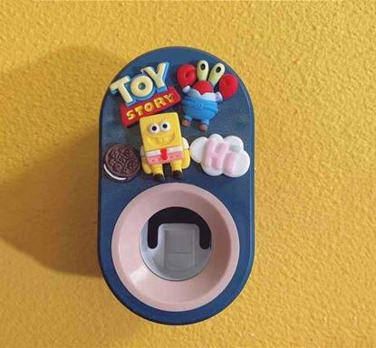 Wall Mounted Compact Automatic Toothpaste Dispenser NB