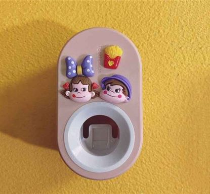 Wall Mounted Compact Automatic Toothpaste Dispenser PIN