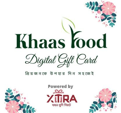 Khaas Food Limited Gift Card BDT 500