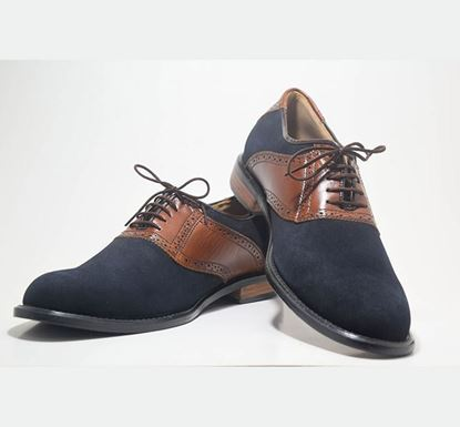 Oxford Leather Shoe - 101-001