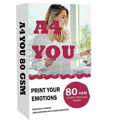 A4 You Paper 80 GSM (With Box)