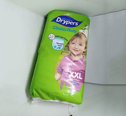 Drypers Classic Pant Baby Diaper XXL 15-25 KG 36 Pieces - HD05